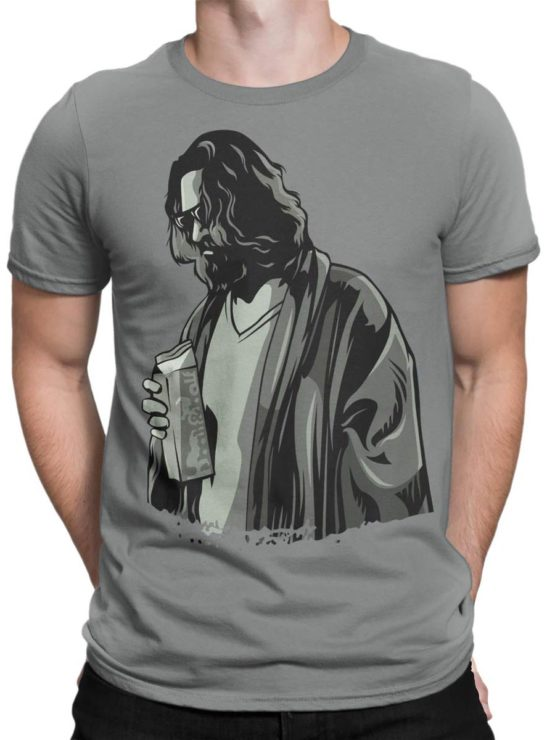 0281 Big Lebowski T Shirt TheDude Front Man