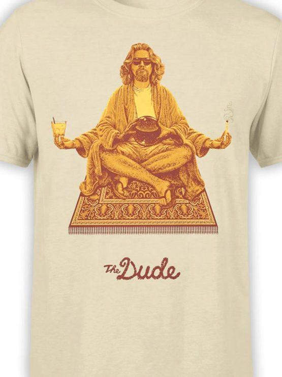 0315 Big Lebowski T Shirt Dude Front Color