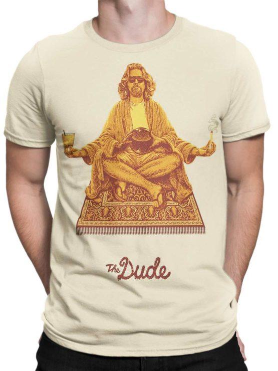 0315 Big Lebowski T Shirt Dude Front Man