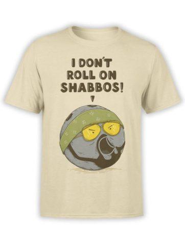 0528 Big Lebowski T Shirt Walter Front
