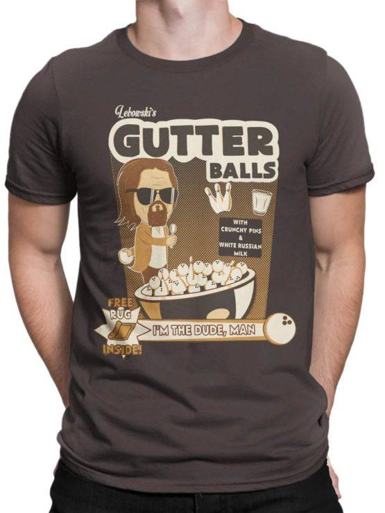 0591 Big Lebowski T Shirt Dude Gutter Front Man