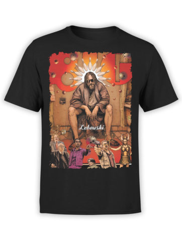 0606 Big Lebowski T Shirt Poster Front