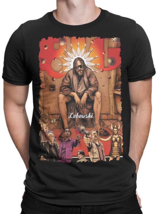 0606 Big Lebowski T Shirt Poster Front Man