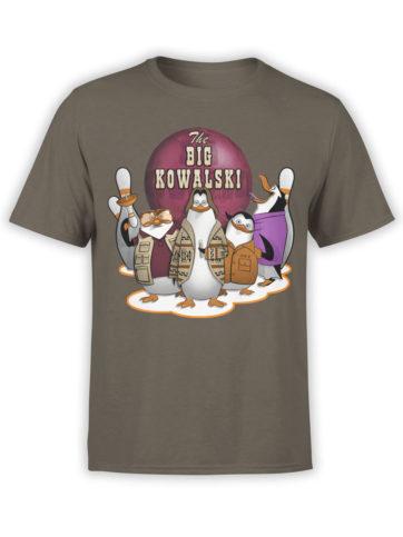 0655 Big Lebowski T Shirt Kowalski Front Army